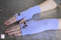 Fingerless (sock-)gloves +°+ Mitaines(-chaussettes)